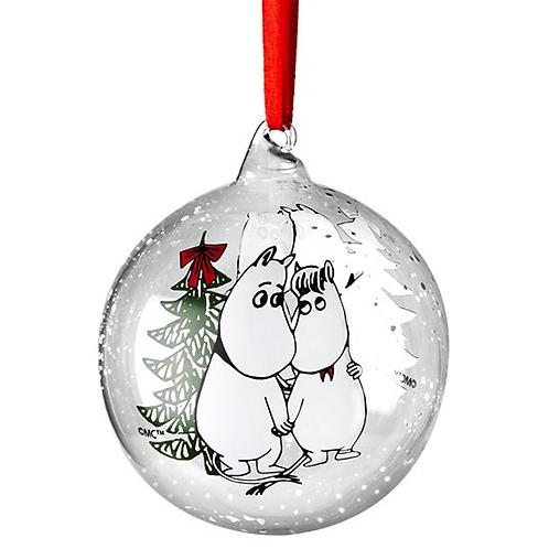"Декоратиный Moomin шар ""Winter Magic"""