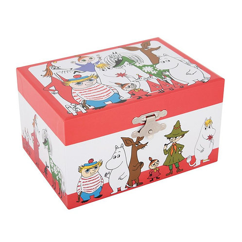 Moomin музыкальнаяшкатулка для ювелирныхукрашений Фрекен Снорк