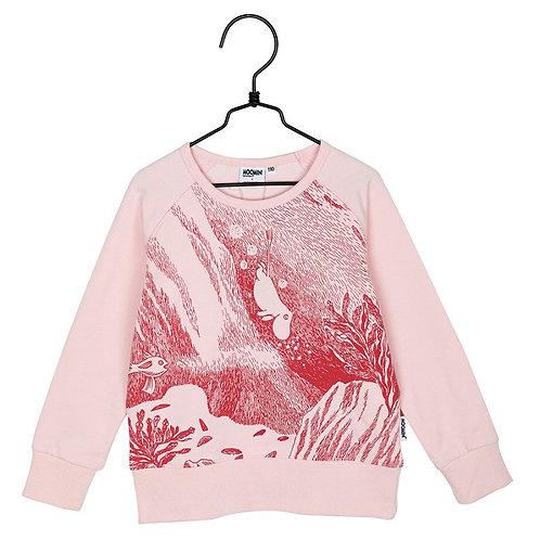 Moomin Толстовка Наше Море Розовая
