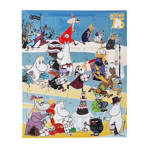 MOOMIN Адвент Календарь с Муми-Троллями (24 фигурки) и настольная игра