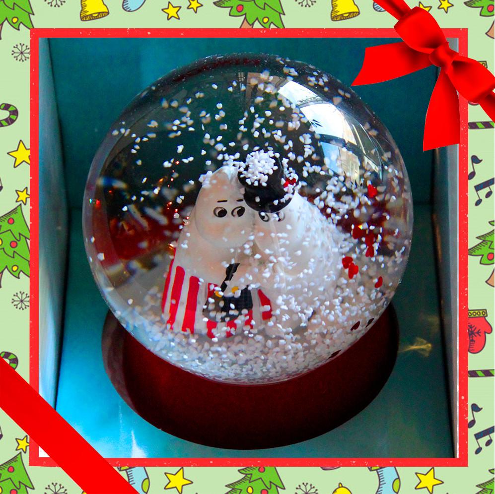 moomin любовь снежный-шар