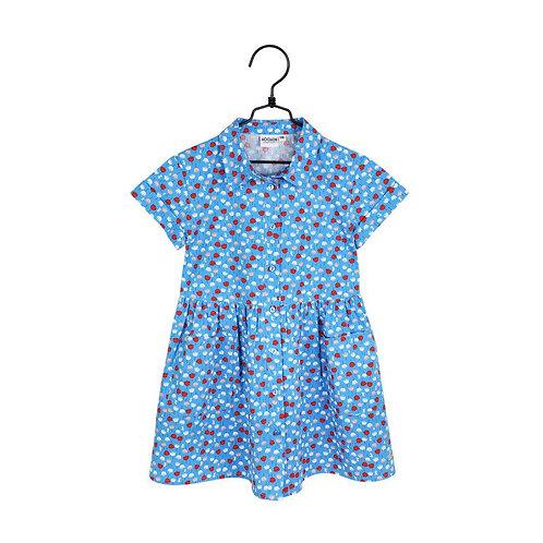 Moomin Платье Mini flower синее