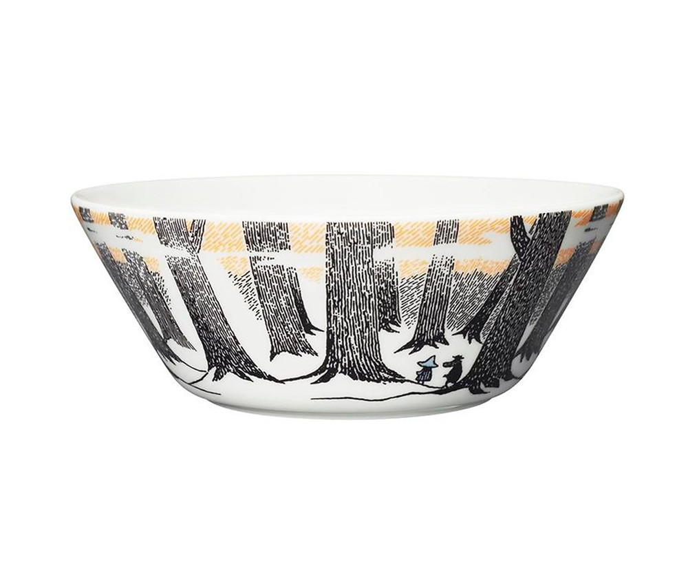 посуда с Муми-Троллями