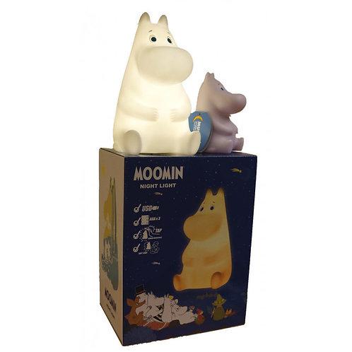 Moomin Ночник Муми-Тролль Спокойной ночи! 22 см. в подарочной коробочке!