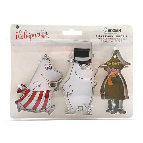 Moomin Набор формочек для выпекания Муми-мама, Муми-папа, Снусмумрик