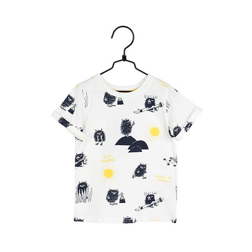 MoominФутболка Shine Off-white