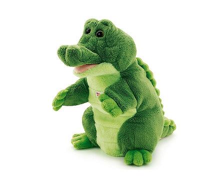 Мягкая игрушка на руку Trudi Крокодил, 25см