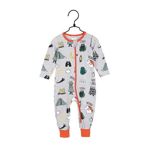 Moomin пижама Camping Trip темно-серая