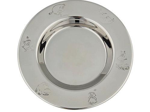 Moomin тарелка от Nordahl, нержавеющая сталь