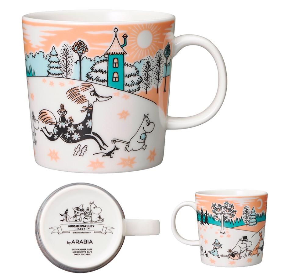 кружка 2019 Moominvalley Park Japan