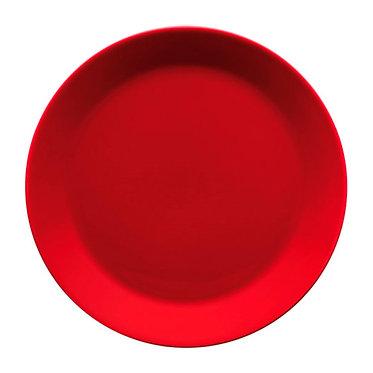 Teema  Тарелка 17 см красная