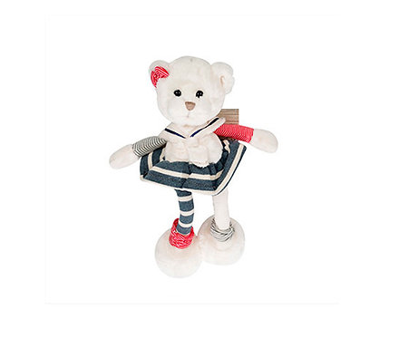 Игрушка мягкая Barbara Bukowski Медведь MARINE 25 см Швеция
