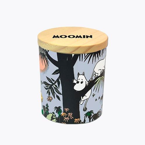 Подсвечник и Ароматическая Moomin свеча Джунгли