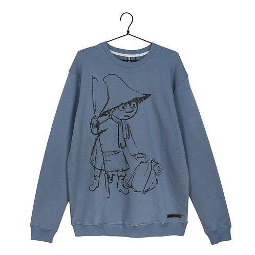 Moomin Свитшот Sketch Снусмумрик синий