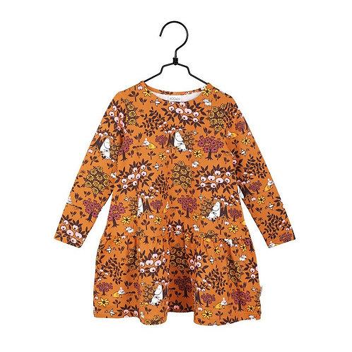 Moomin Платье Berry коричневое