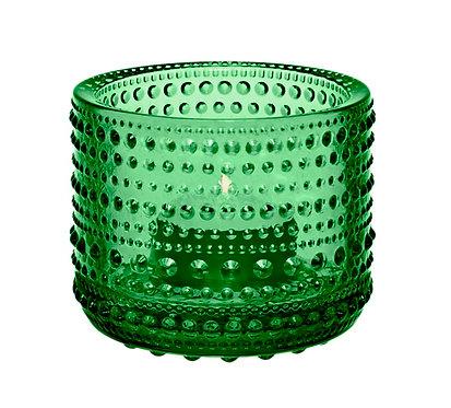Kastehelmi Подсвечник 64 мм. зелёный