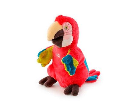 Мягкая игрушка игрушка на руку Trudi Попугай, 25см