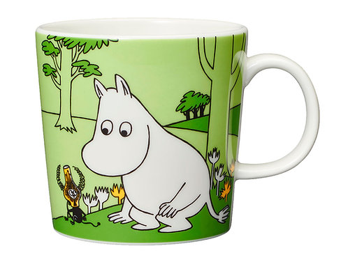 Moomin Кружка Муми-тролль 0,3 л. зеленая
