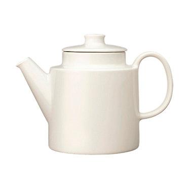 Teema Чайник для чая 1л с крышкой белый