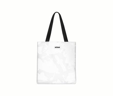 Стильная Муми сумка с Муми-Троллями (tote bag - White shadows)