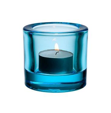 Kivi Подсвечник 60 мм светло-голубой