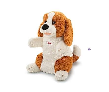 Мягкая игрушка на руку Trudi Собачка Бигль, 25см