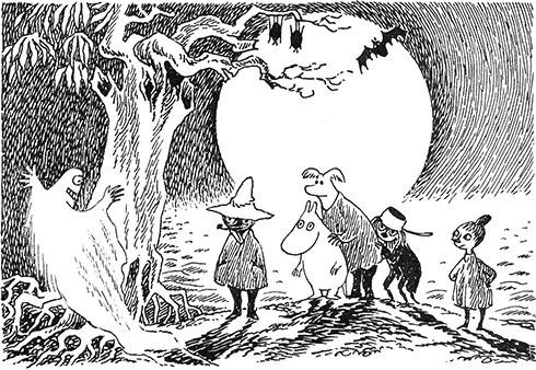 Иллюстрации и тексты Туве Янссон