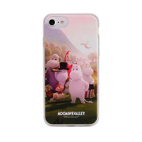 Moomin Мягкий чехол Муми-семья для iPhone 6/ 6S / 7/ 8