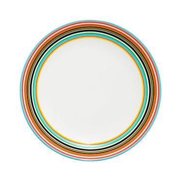 Оранжевая тарелка Origo, 20 см.