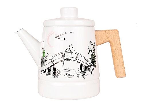 Moomin - кофейник/чайник, Муми-тролль Скучаю по тебе 1,6 л.