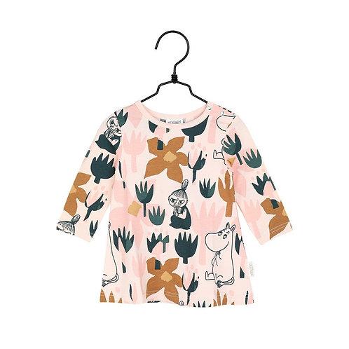 Moomin платье роза