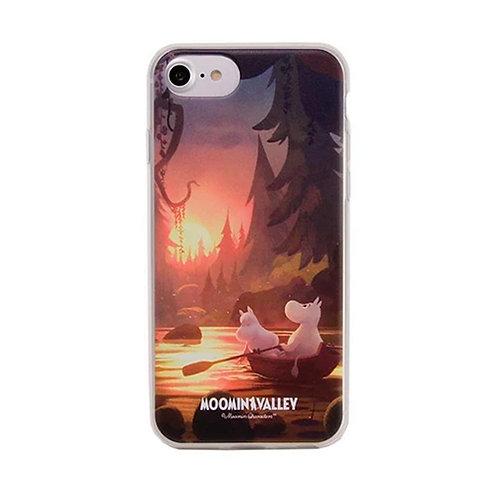 Moomin Мягкий чехол Закат для iPhone 6/ 6S / 7/ 8