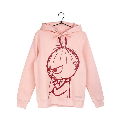 MoominТолстовка Малышка Мю розовая