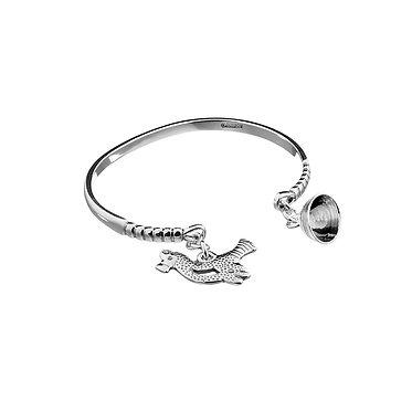 Браслет LITTLE BIRD, серебро