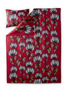 Комплект постельного белья Красно-белый, Alma, 150 x 210 см