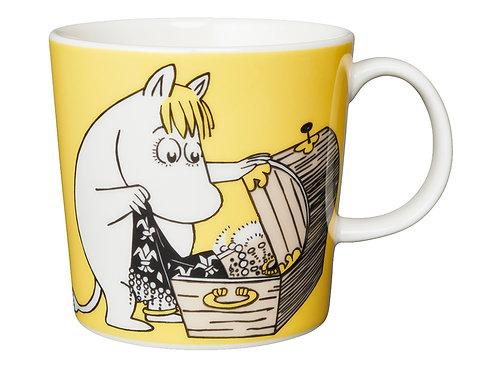 "Moomin Кружка ""Фрекен Снорк"", желтая, 0,3 л. 2001-2012"