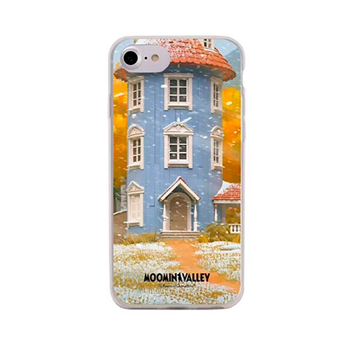 Moomin Мягкий чехол Муми-Дом  для iPhone 6/ 6S / 7/ 8