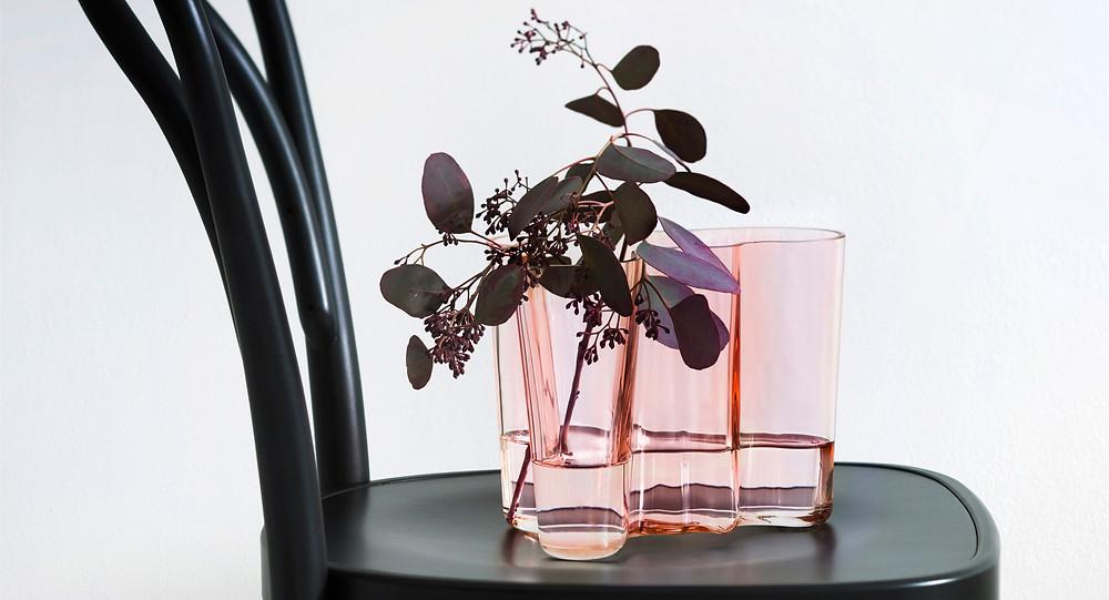 Алвар Аалто дизайн ваза Савой