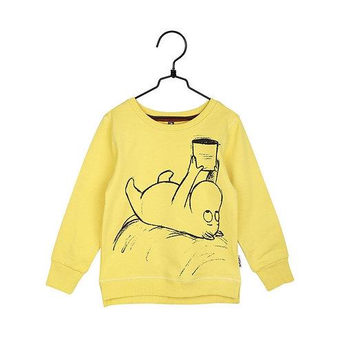 Moomin толстовка Муми-тролль желтая
