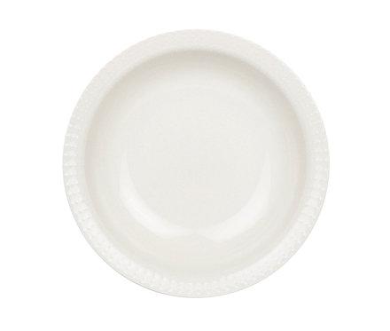 Тарелка AITO, Глубокая, 20 см. Белая