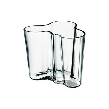 Ваза Коллекция Alvar Aalto120мм, прозрачное стекло