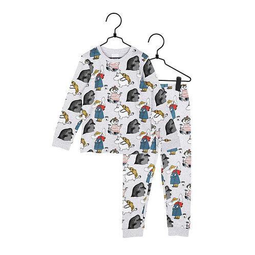 Moomin пижама Yikes серая