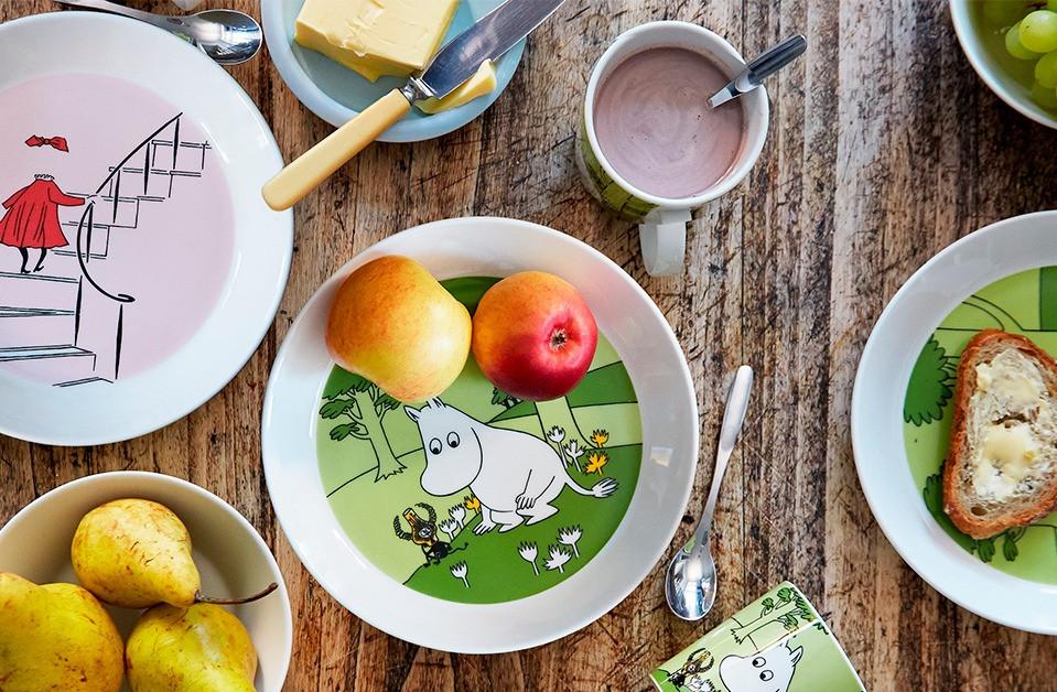 Moomin Arabia Finland посуда с Муми-троллями