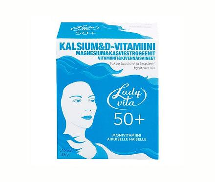 Ladyvita 50+, эффективный комплекс витаминов для зрелых женщин, 120 табл.