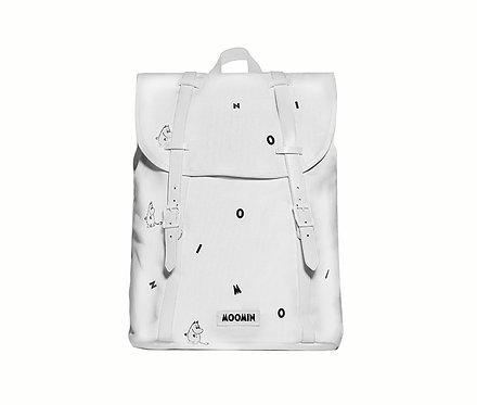 Стильный Муми рюкзак с муми-троллями (white icon)