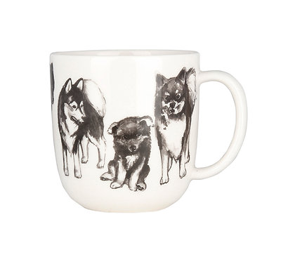 Кружка Друзья Собаки, Лайка