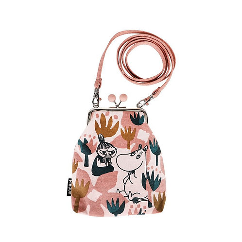 Moomin сумочка Vinssi В цветах, розовая