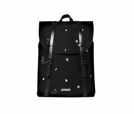 Стильный Муми рюкзак с Муми-Троллями (black icon)