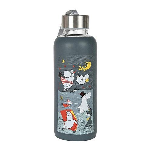 Moomin бутылка для питья Шторм, синяя