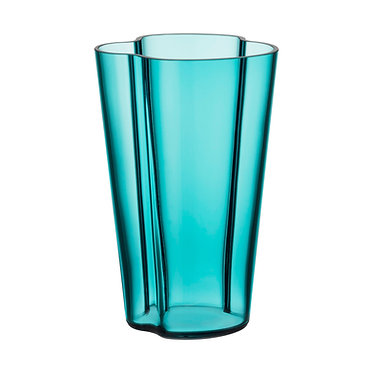 Ваза Коллекция Alvar Aalto220мм, морской синий.